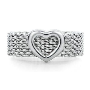 Tiffany & Co Somerset Heart Ring